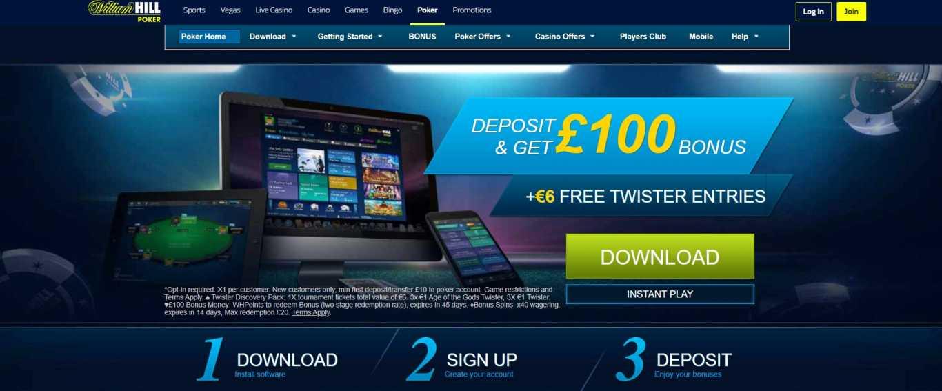 william hill casino app promo offer